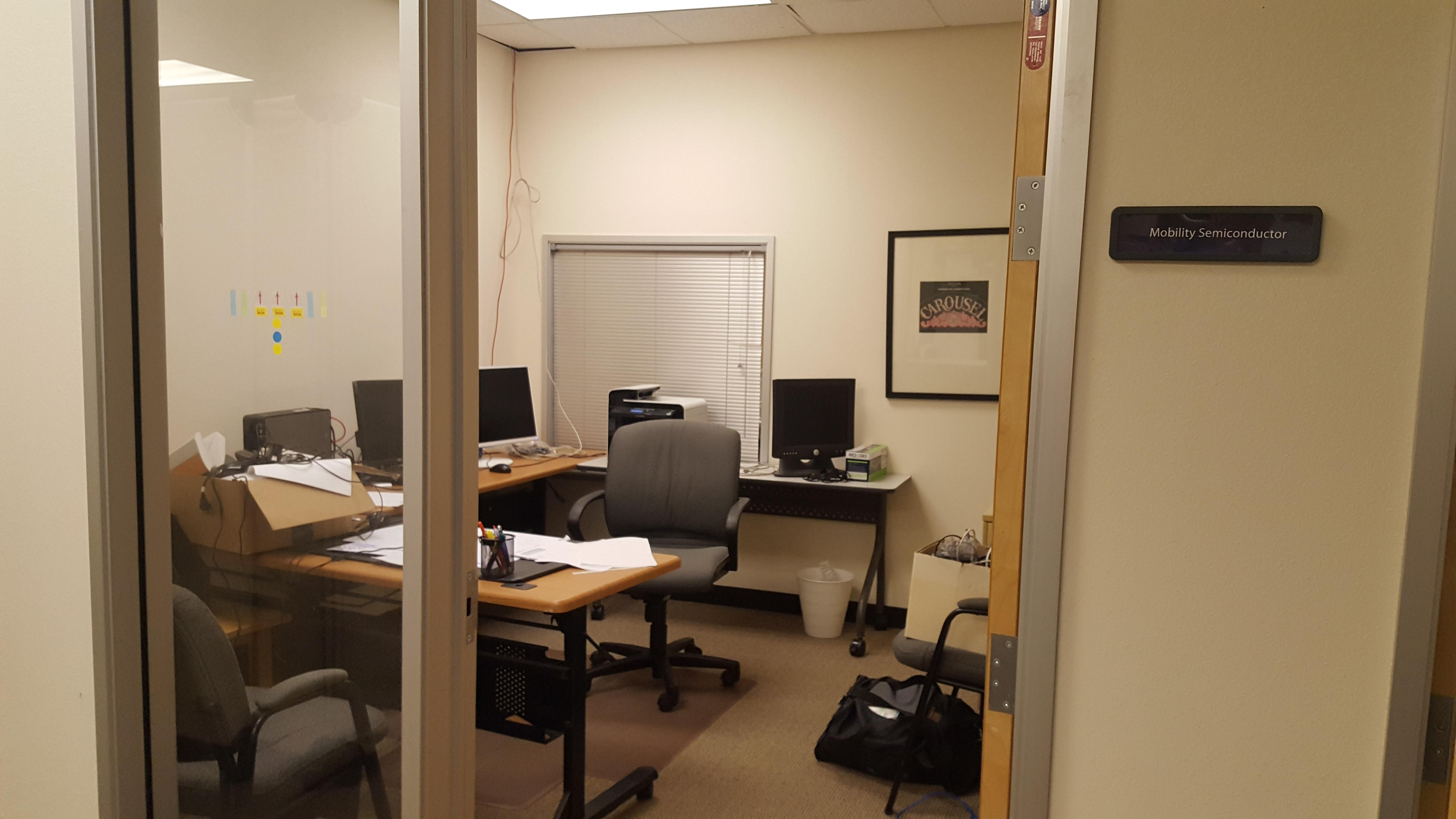 Global Business Accelerator - Office room