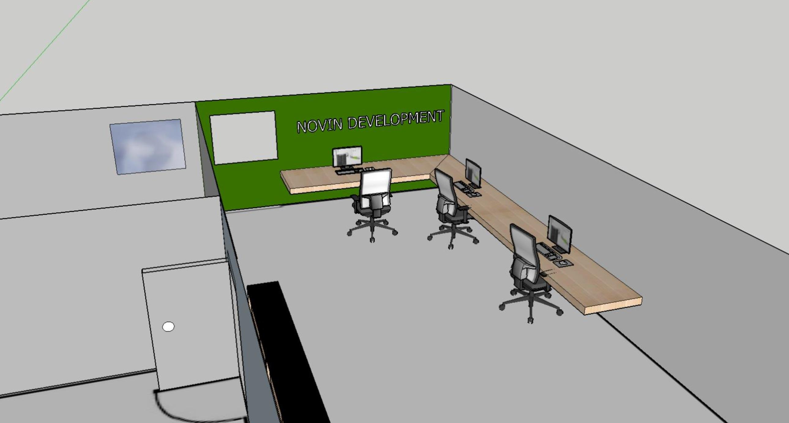 Novin Development Corp. - Dedicated Desk - 1