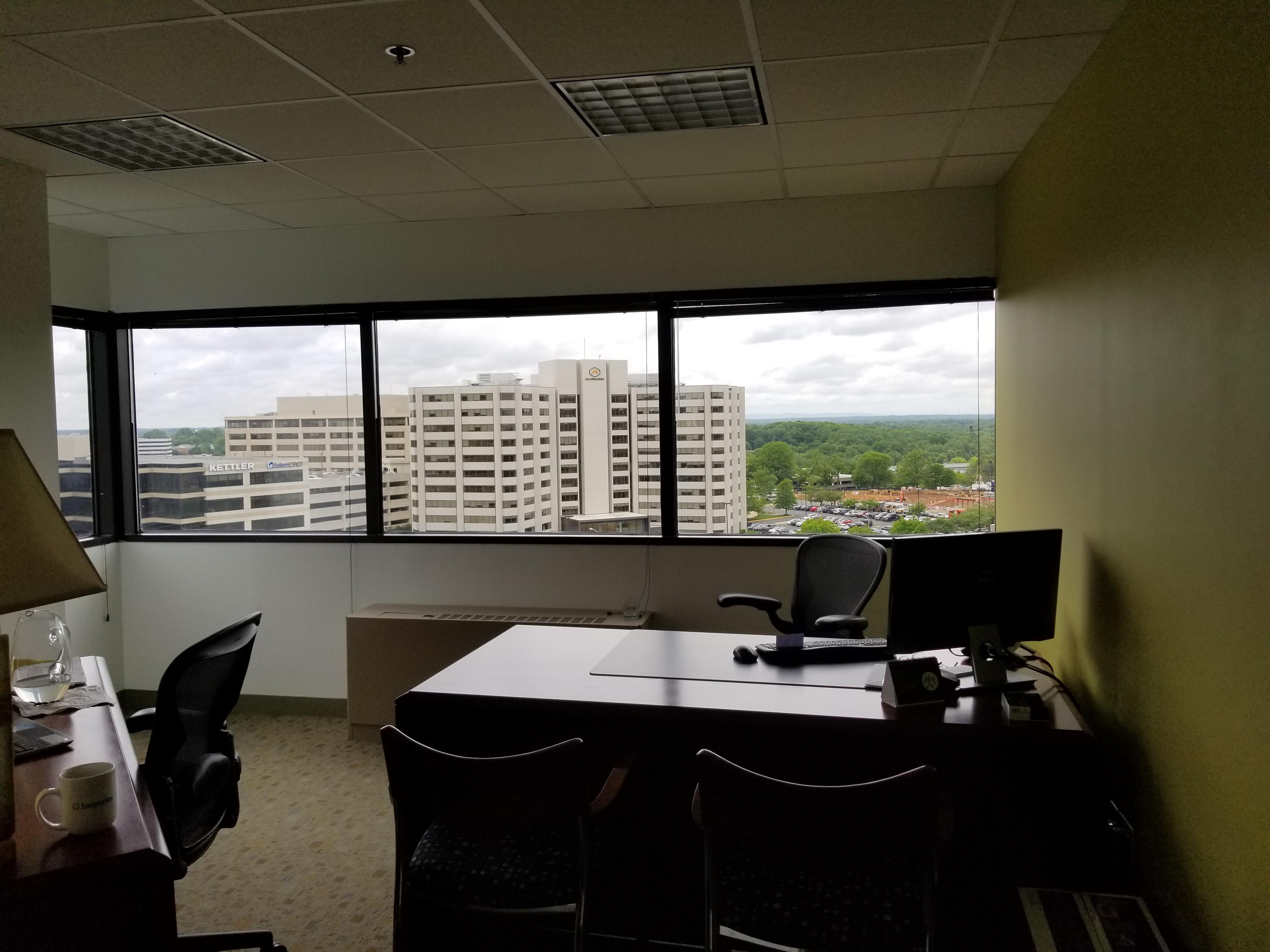 Executive Office Suites - Executive Office Window view