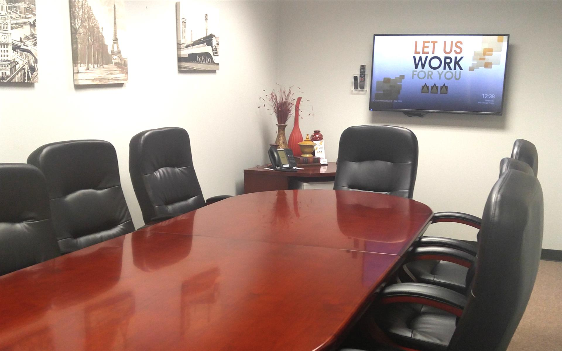 Peachtree Executive Suites - Back Conference Room