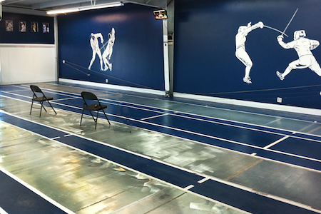 Utah Sport Fencing Center - West Room
