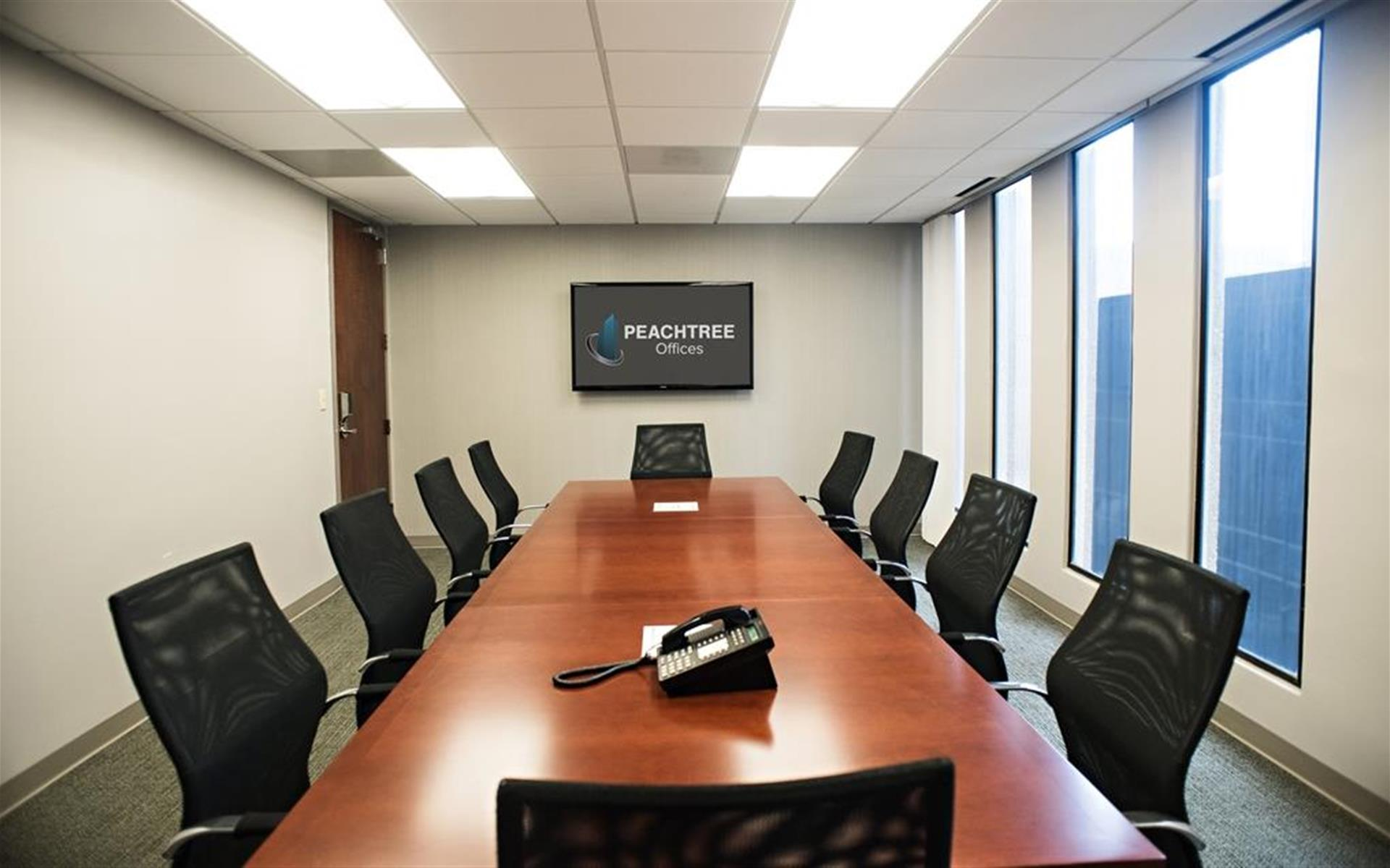 Peachtree Offices at Downtown, Inc. - Strategy Room