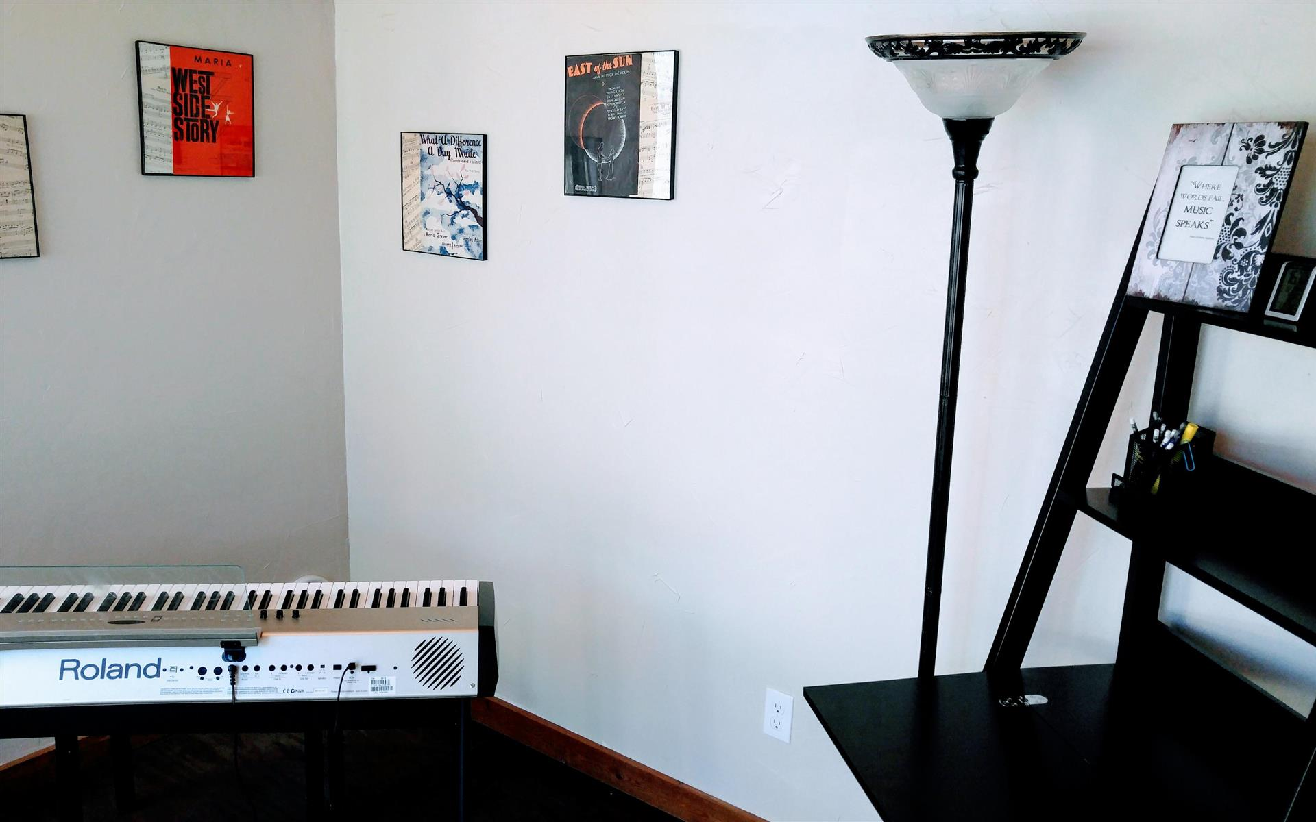StudioK Music - StudioK Cottage #2   120 sq ft