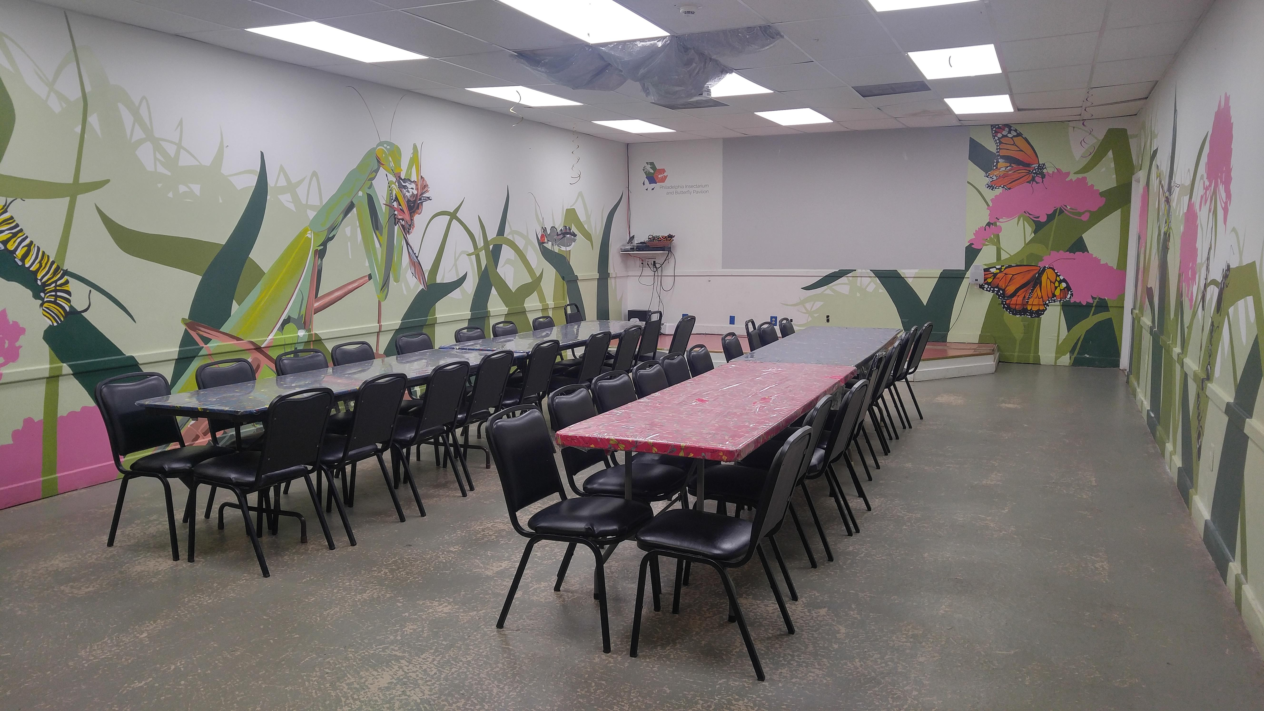 Philadelphia Insectarium and Butterfly Pavilion - Event Space