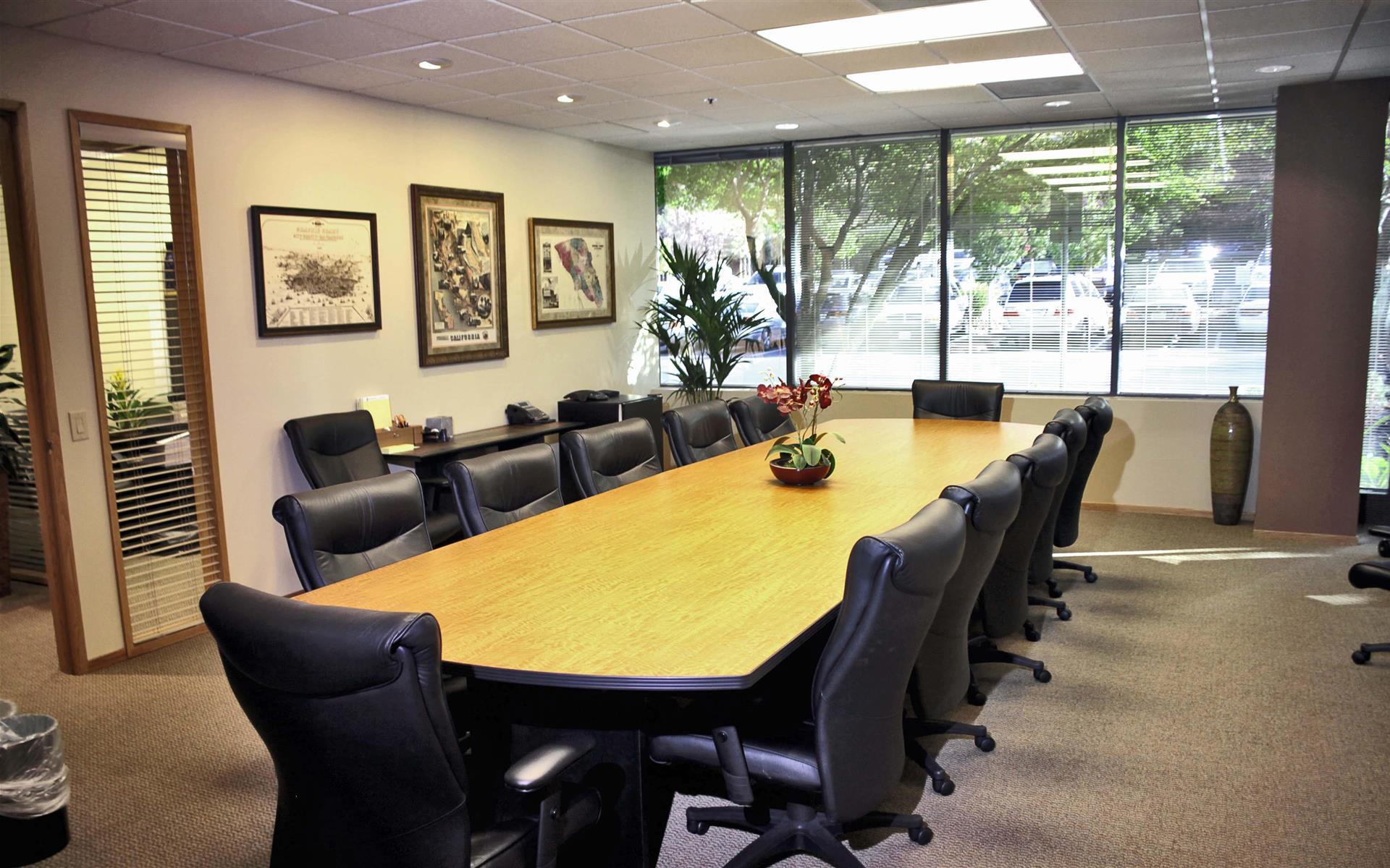 Redwood Litigation Services - Spacious Conference Suite #1