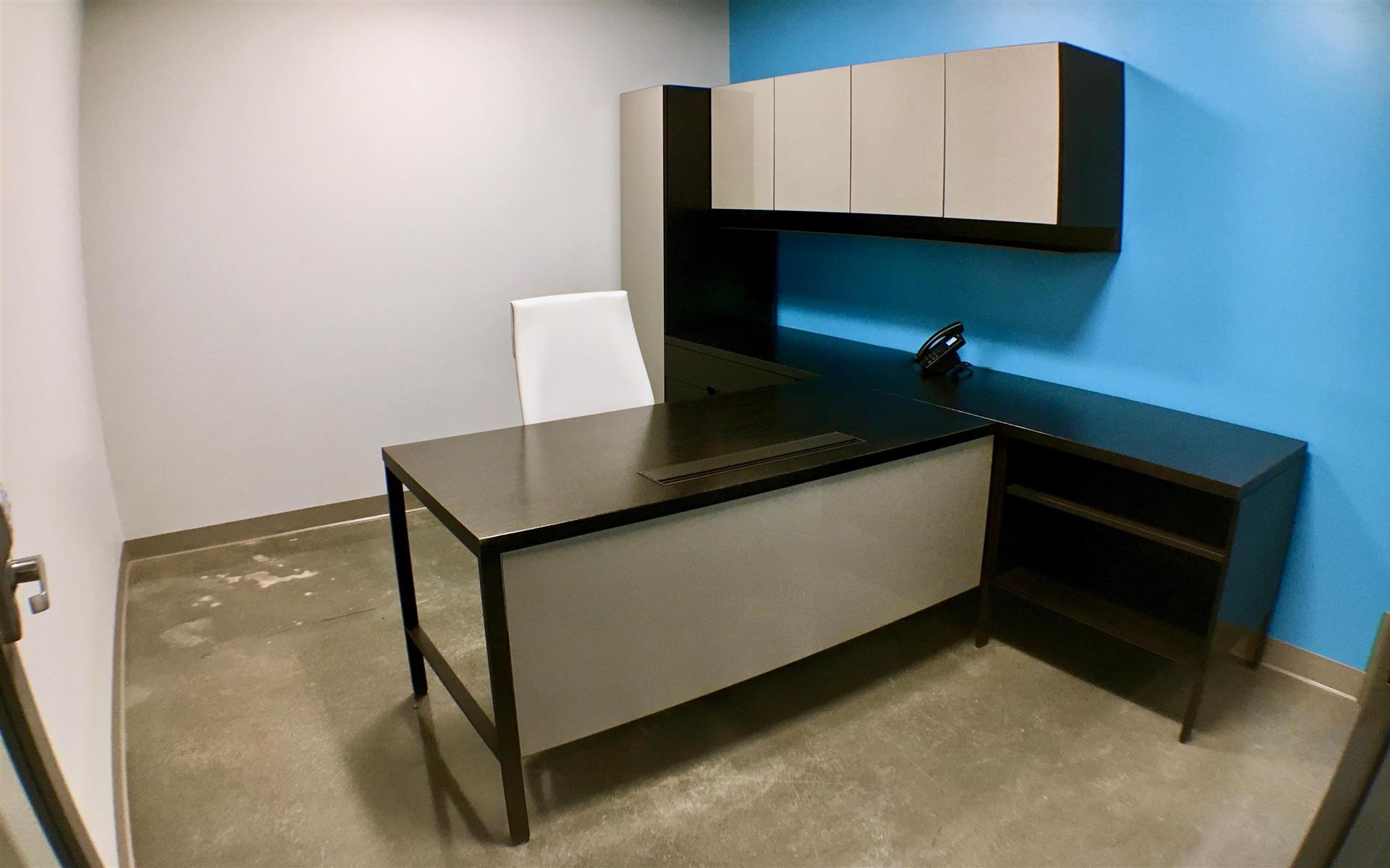 Benjamin's Desk - 30 North 41st Street - Private Office - Executive Blue