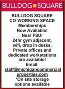 Logo of BullDog Square Co-Working Space