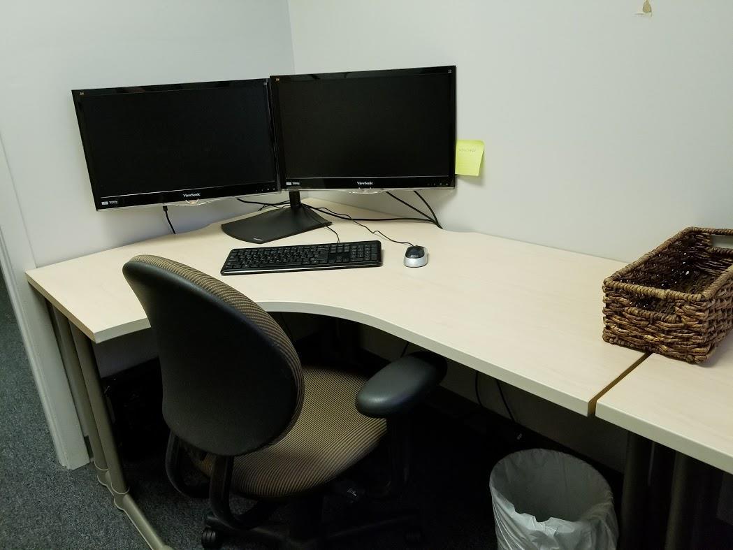 MTC Labs - Desk #1 (Fr 01 Dy)