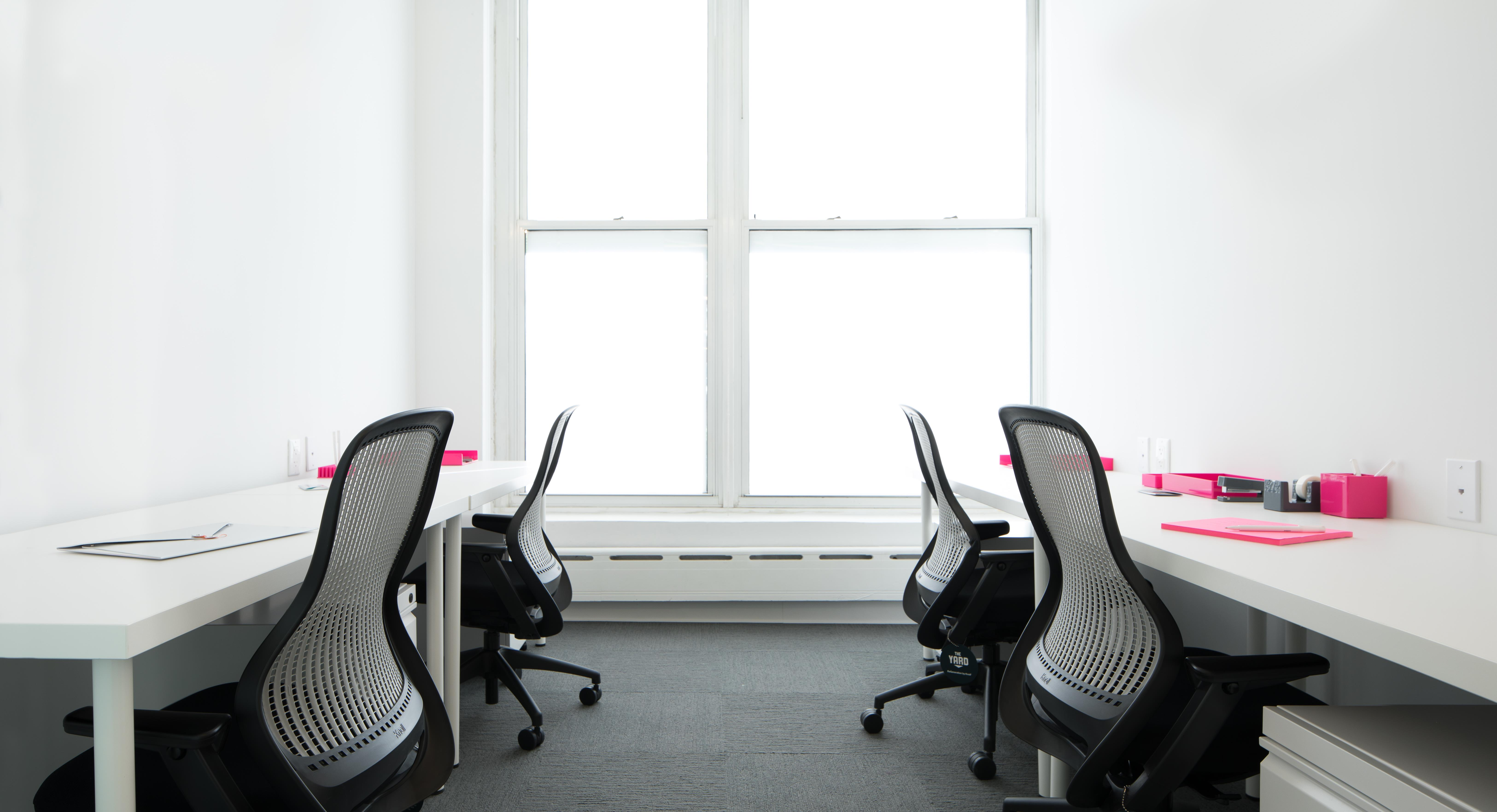 The Yard: Columbus Circle - Private Office for 4 with Windows