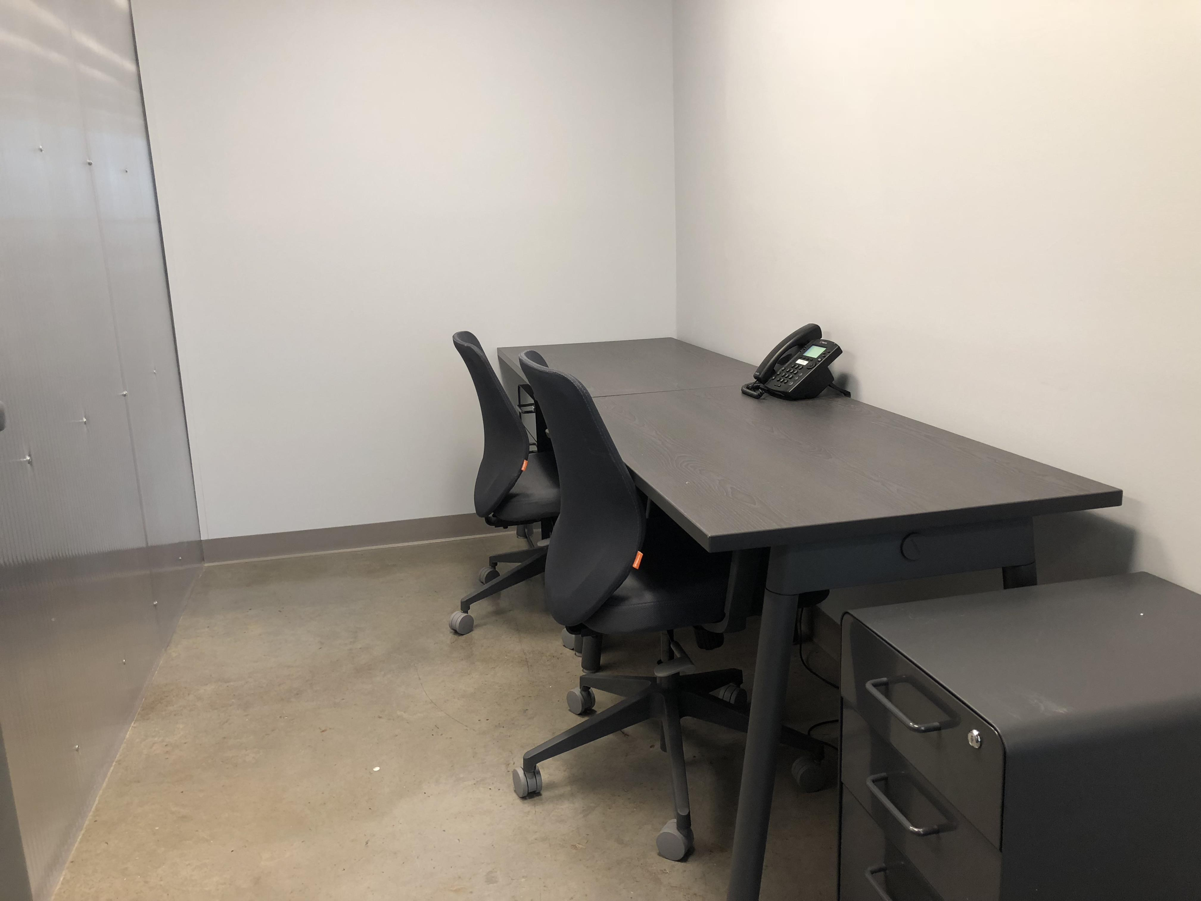 1776 University City - Office 107 - 3 person office