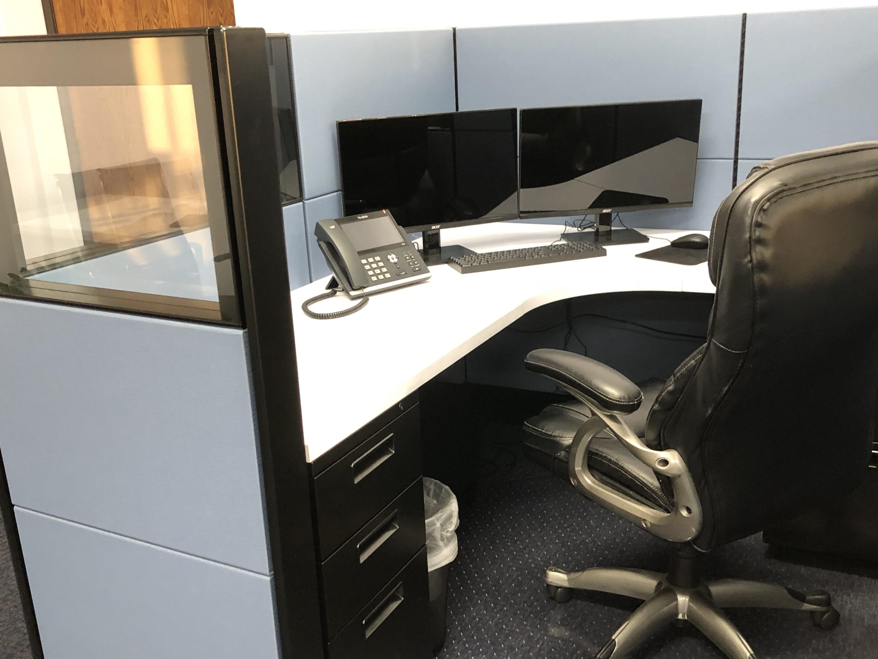 Milestone Management Corp - High-end cubicles - fully furnished
