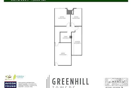 Greenhill Towers | Codina Partners - Suite 680