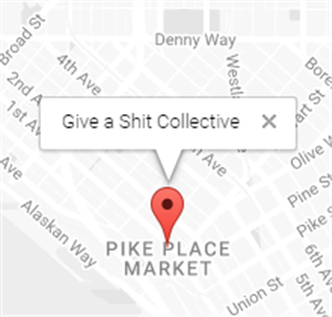 Logo of Give A Shit Collective
