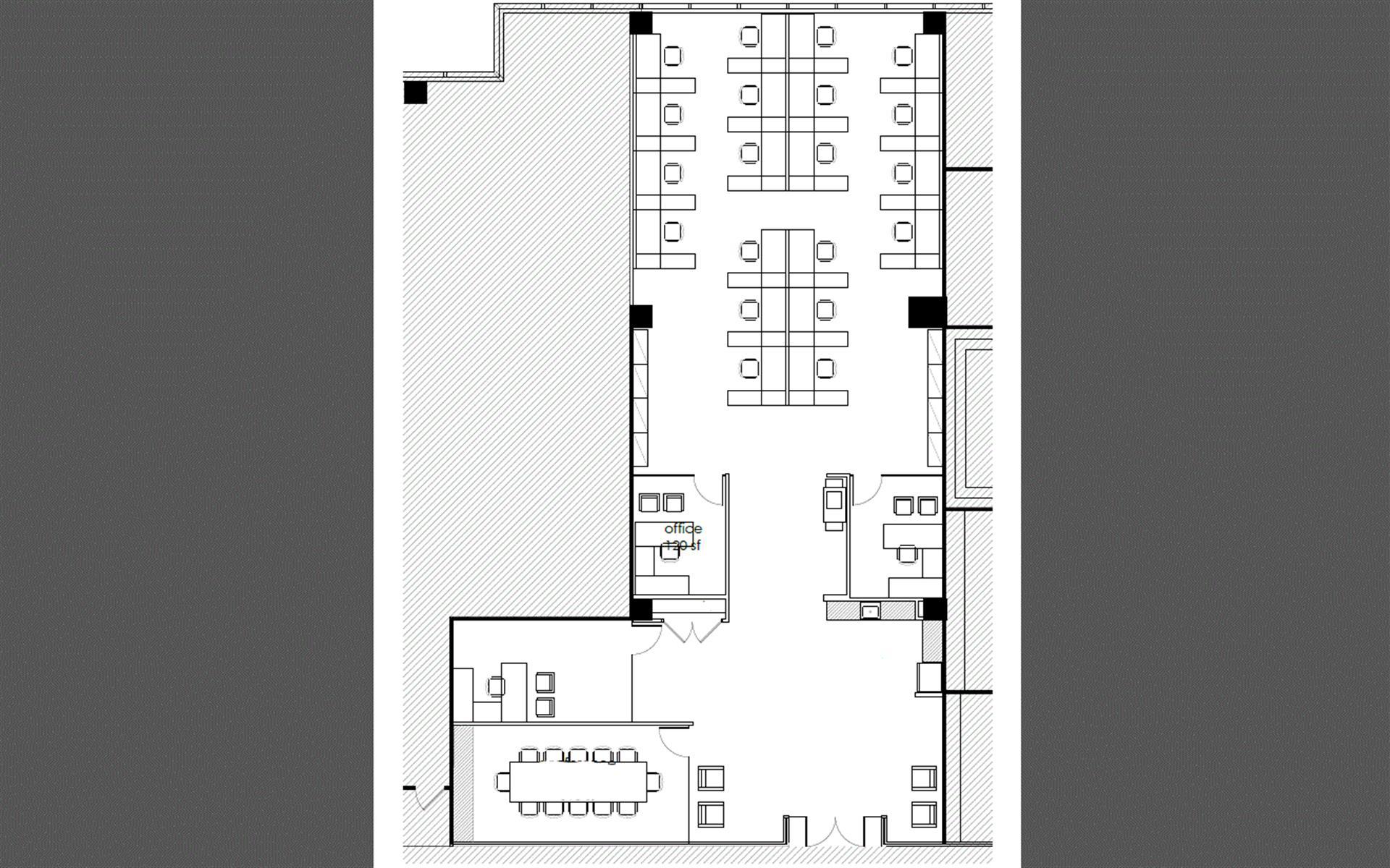 WashingtonREIT | Silverline Center - Team Office | Suite A160 (3808 Sq Ft)
