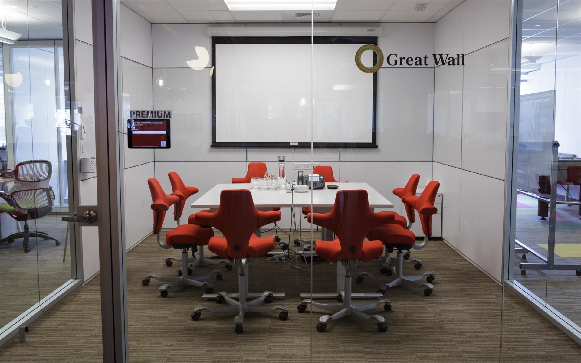 NGIN Workplace - Meeting Room - Great Wall