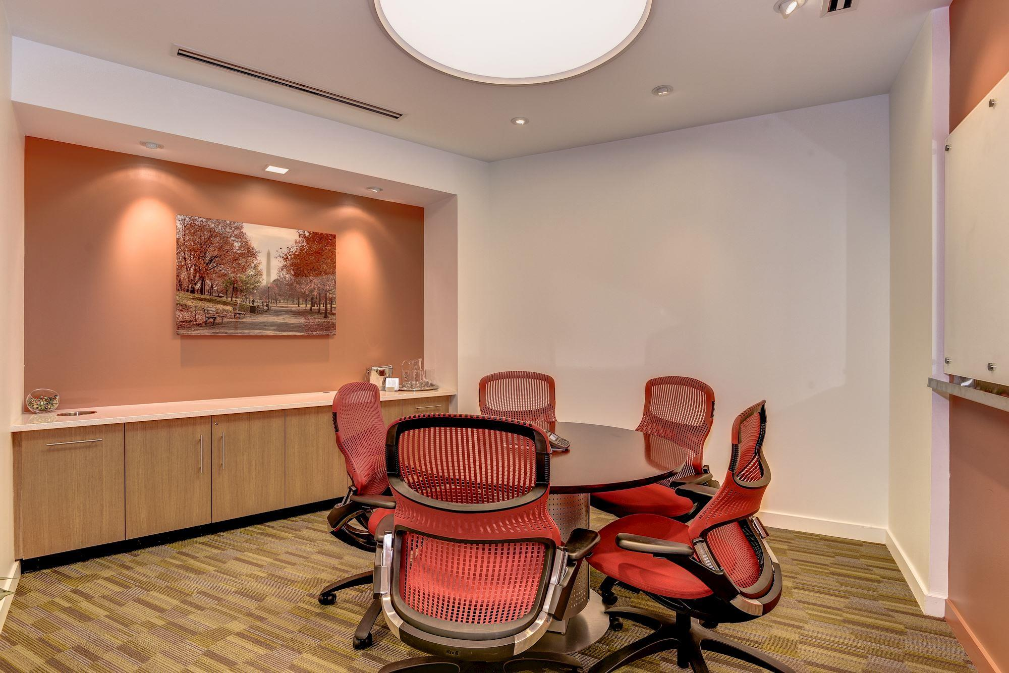 Carr Workplaces-  K Street - Connecticut  Meeting Room
