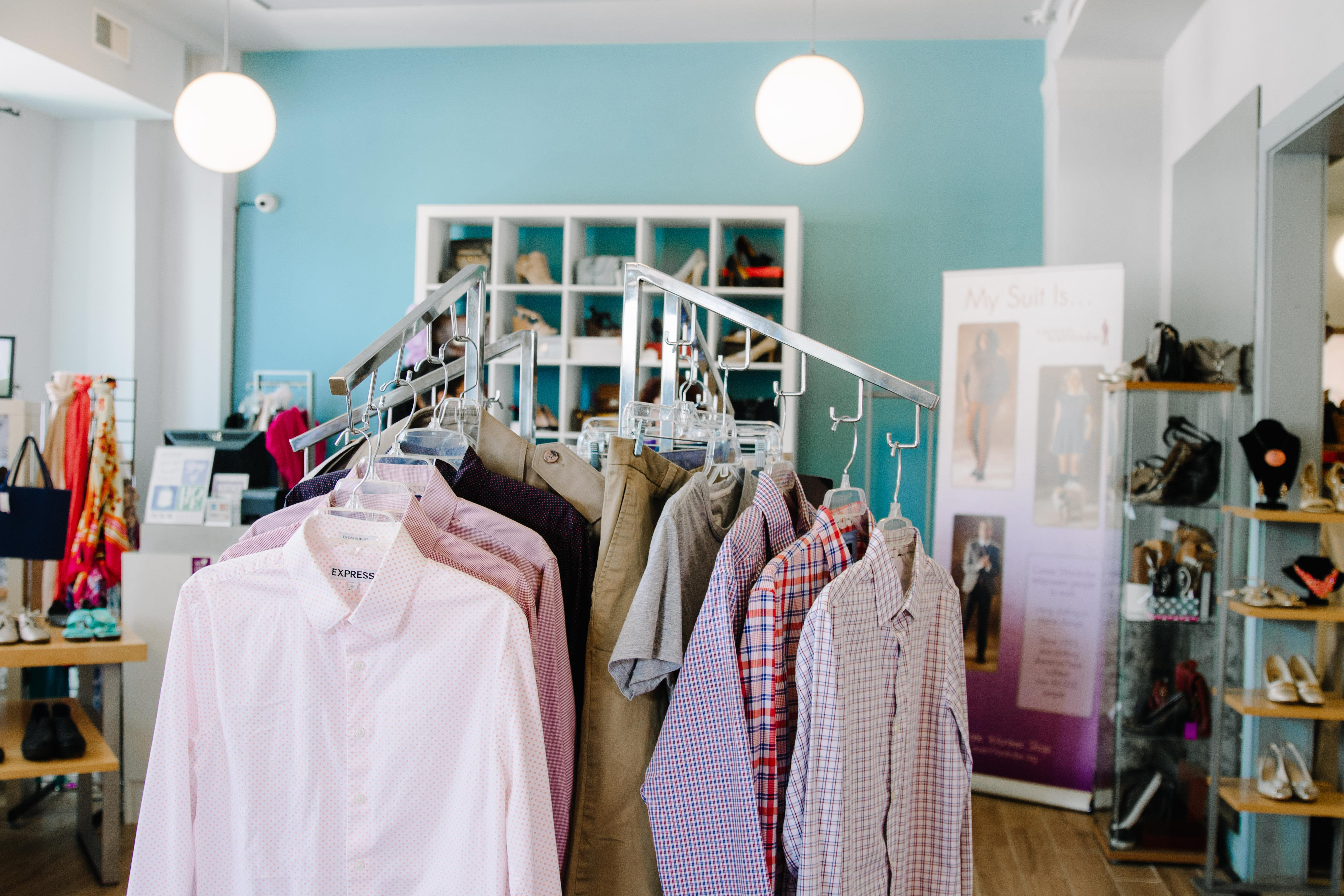 The Wardrobe, a resale store - The Wardrobe resale/boutique space