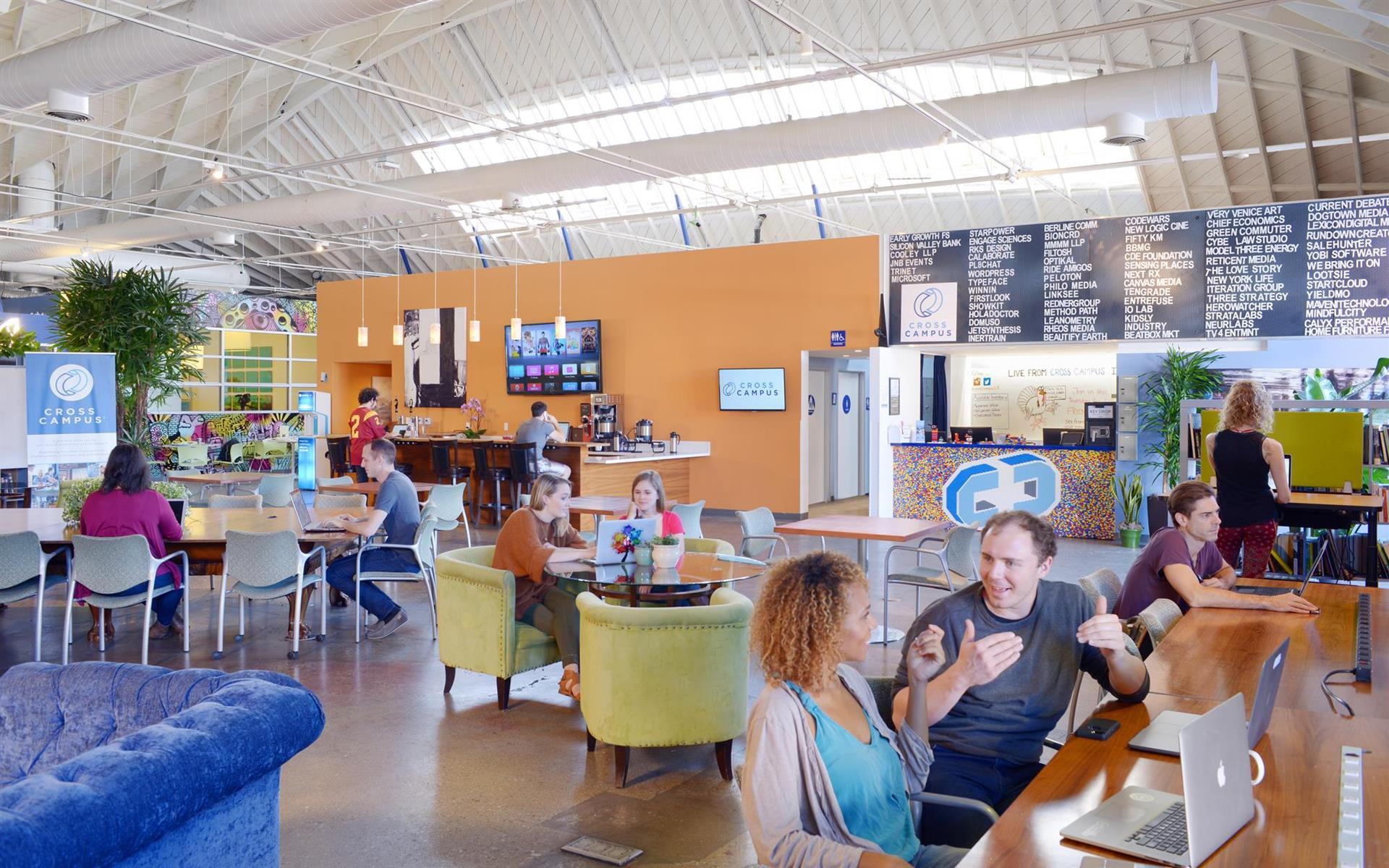 Cross Campus Santa Monica - Coworking & Hot Desk Membership