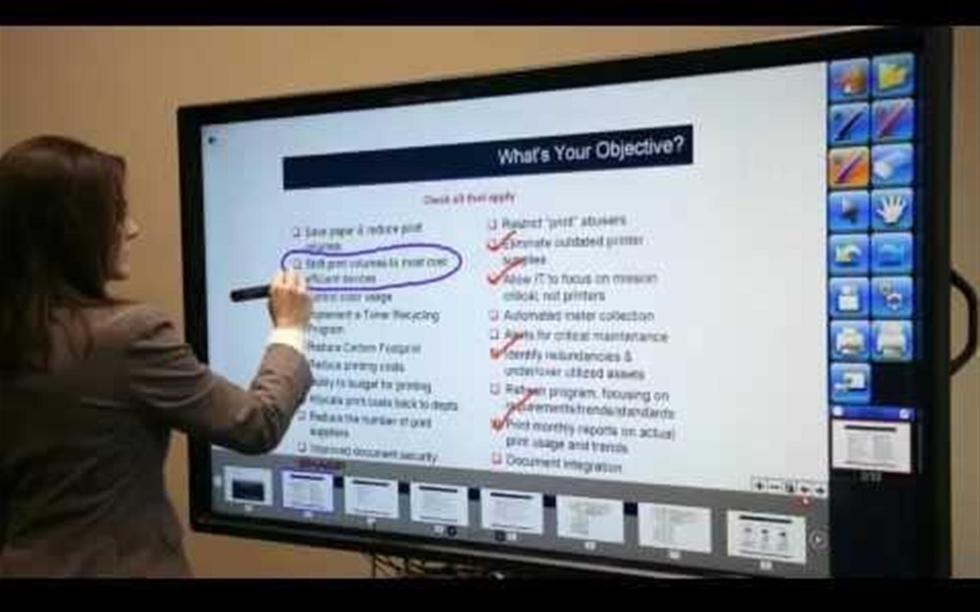 On Point Executive Center - Interactive 70inch Smart Board