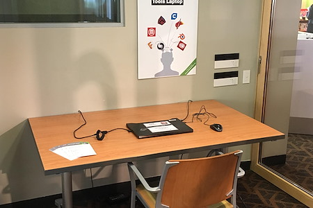Palo Alto City Library - Downtown Branch - Creative Tools Laptop Station
