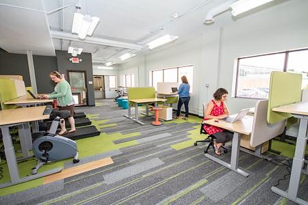 Work it Coworking - Coworking w/fitness open to  public