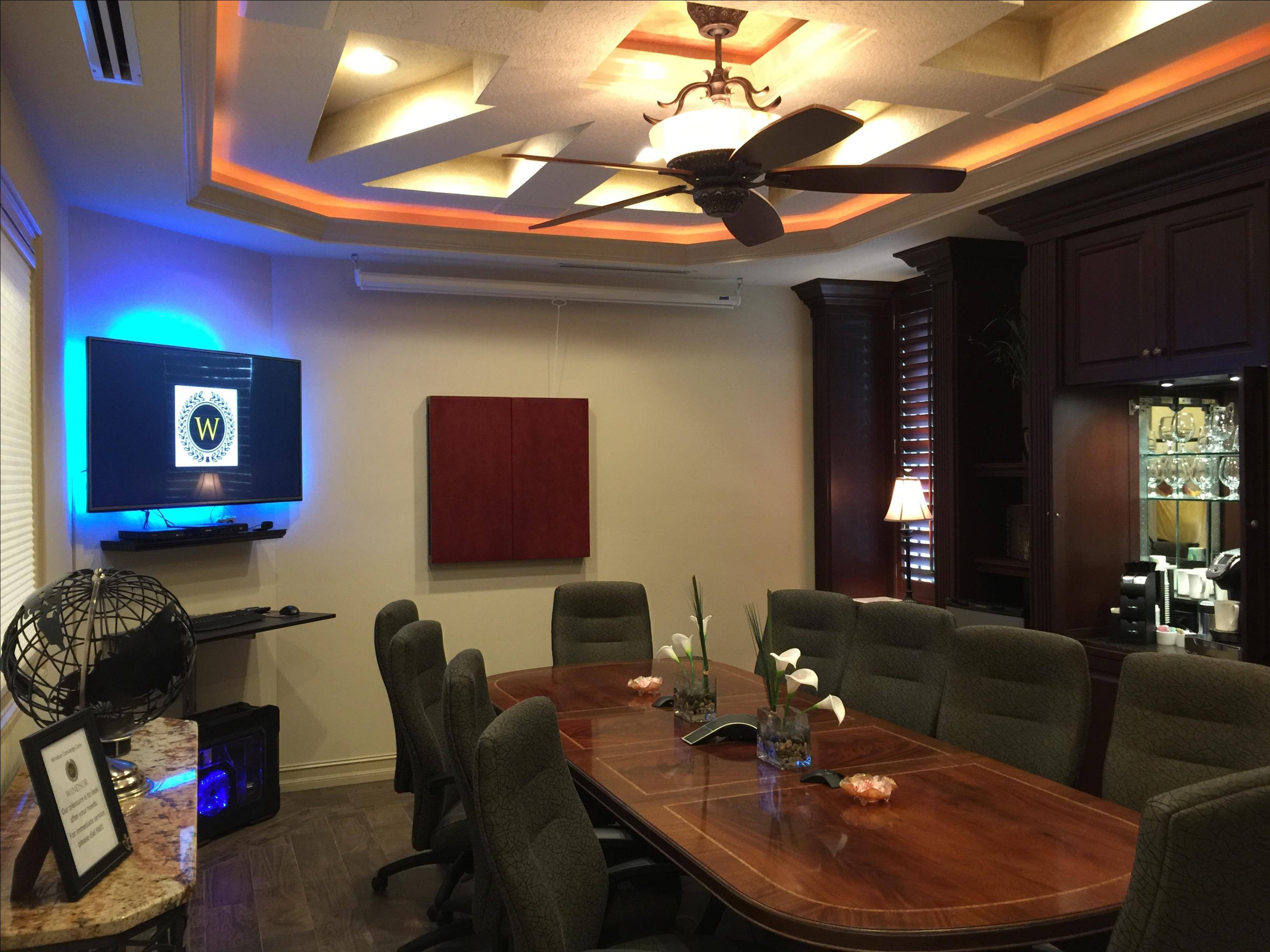 """Windsor """"Naples' Premier Meetings Venue"""" - Windsor Board Room"""