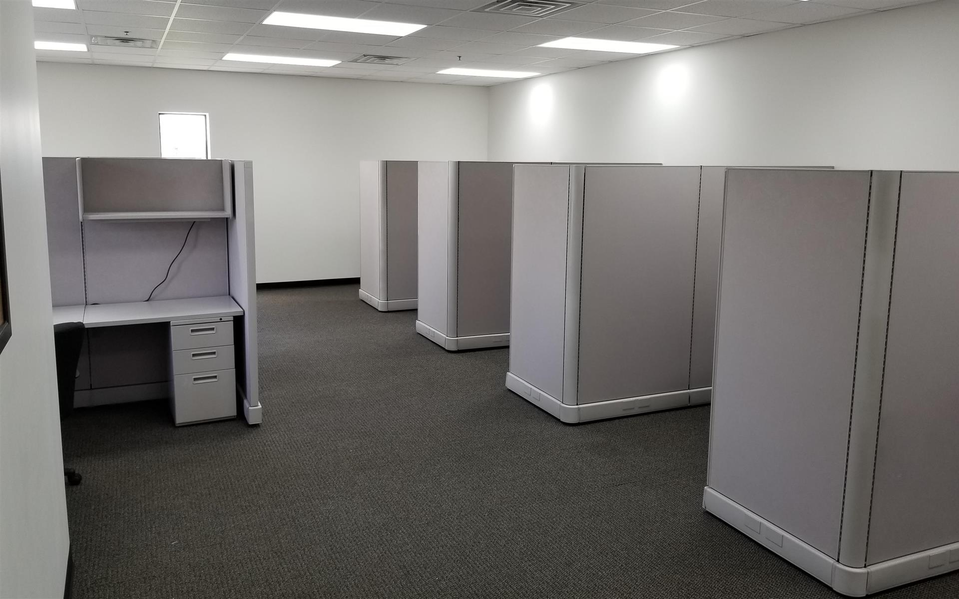 Jeff Tech Center - Open desk