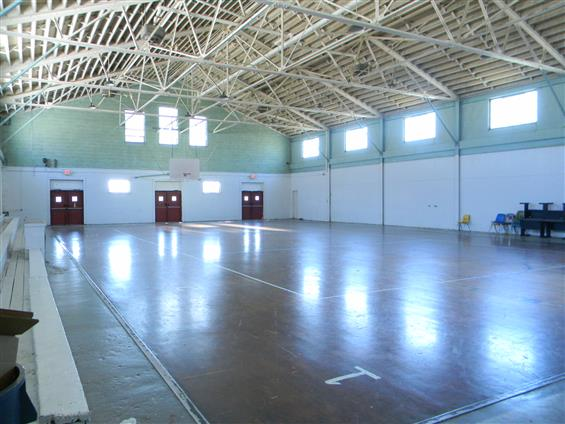 Historical Gym Center - Basketball Court