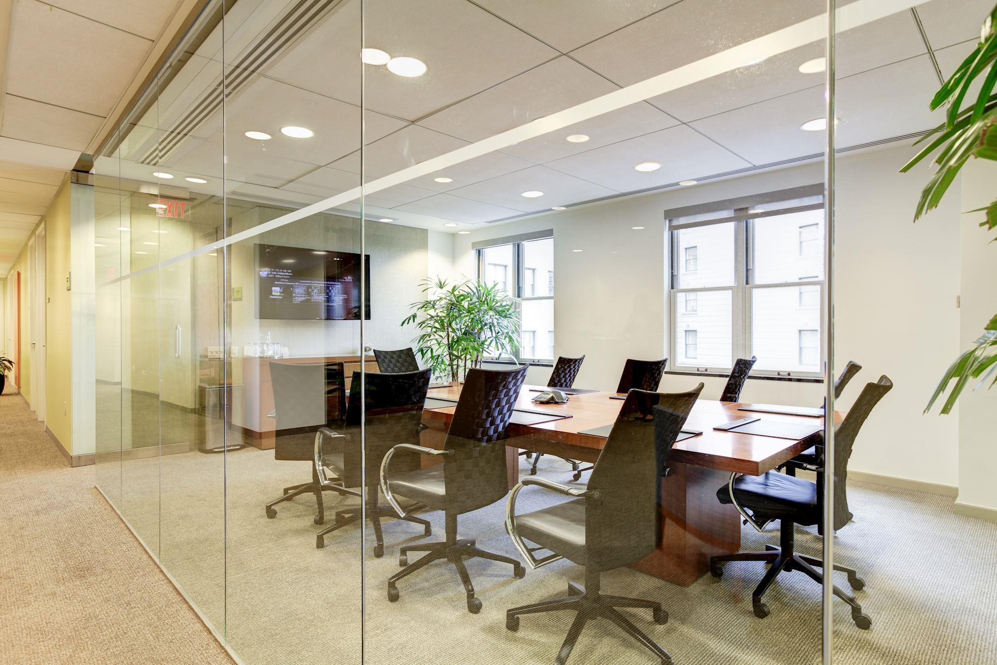 Carr Workplaces - The Willard - Willard Boardroom