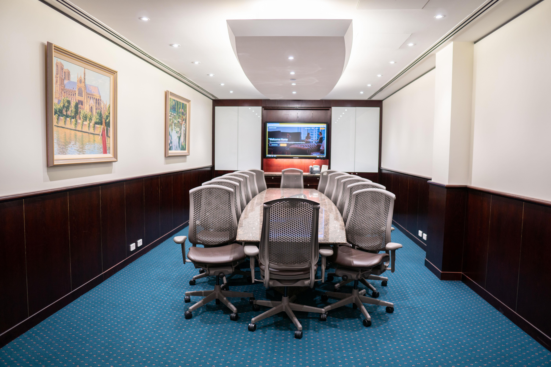Servcorp 140 William Street - Premium Boardroom - Seats 14 people
