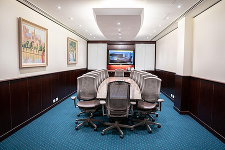 Servcorp 140 William Street - Premium Boardroom | Seats 14 people