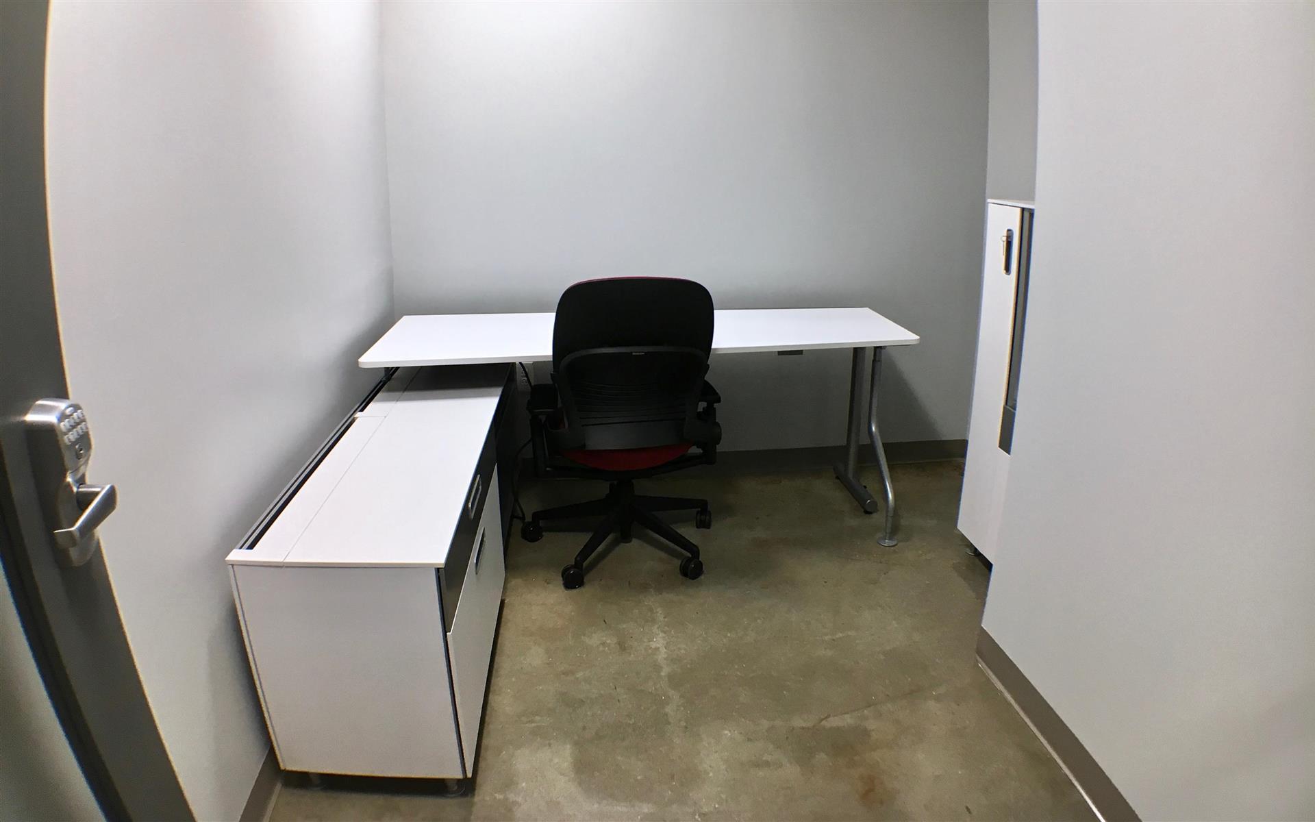 Benjamin's Desk - 30 North 41st Street - Private Office - Jr. Executive White