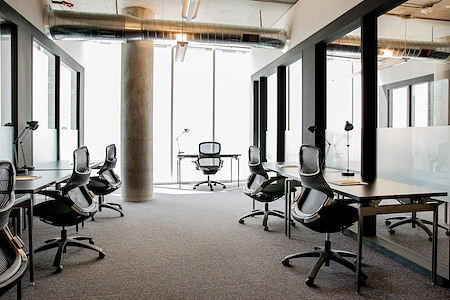 CENTRL Office Downtown - 7 Person Office, Ensuite Conf Rm
