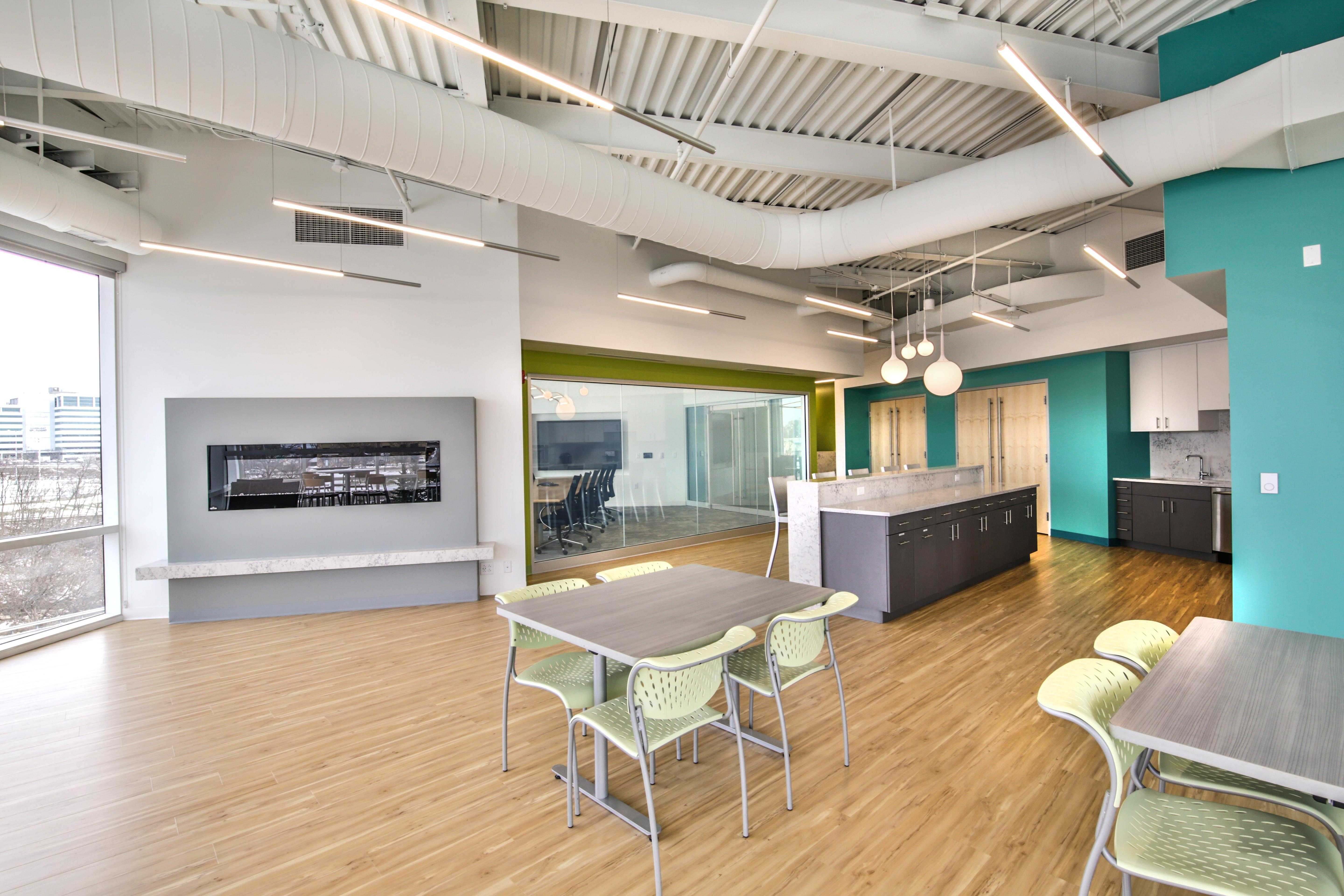 Burns Scalo Real Estate - Event Space- Open Cafe