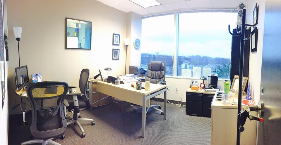 Precision Learning - Large Private Window Office