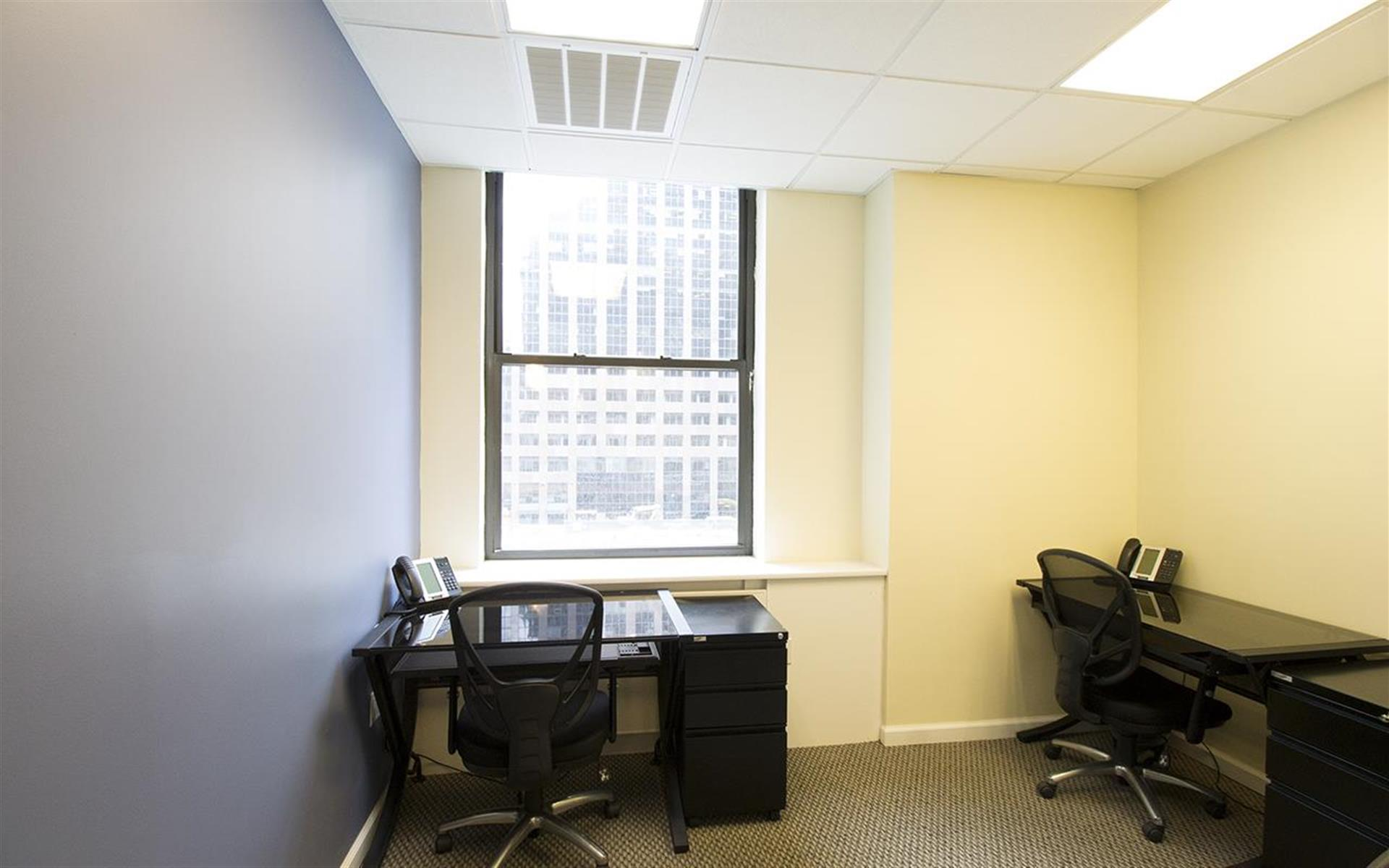 Jay Suites Financial District - Private window office for 3-4