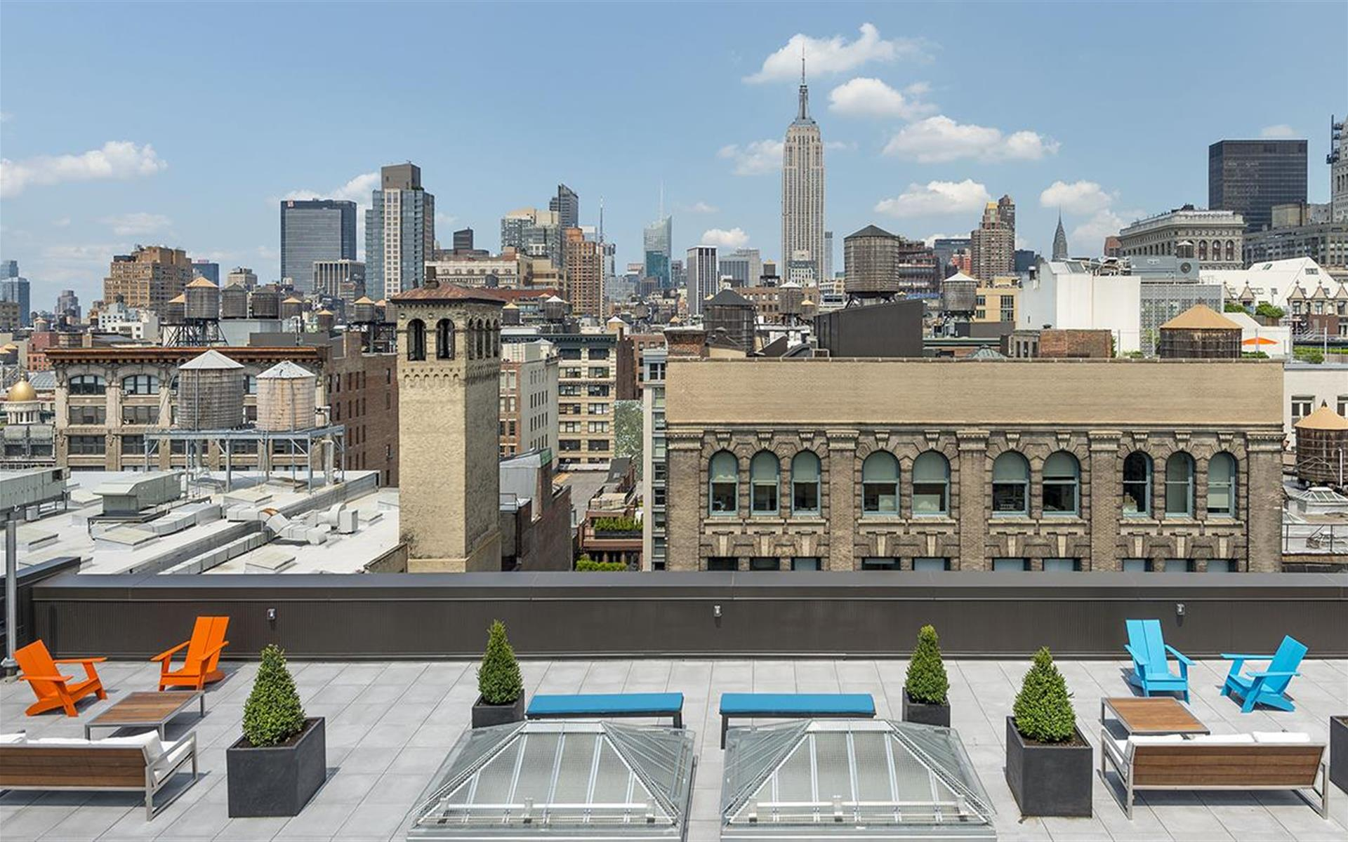 TechSpace - Flatiron - Rooftop Terrace Coworking Pass