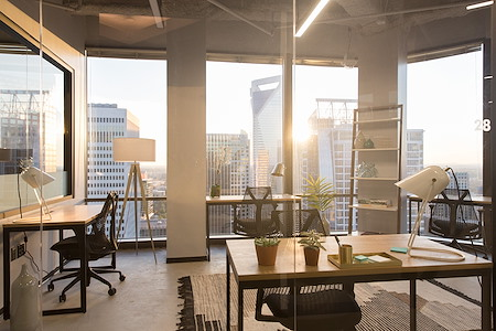 Industrious Charlotte Uptown - Team Space for 4