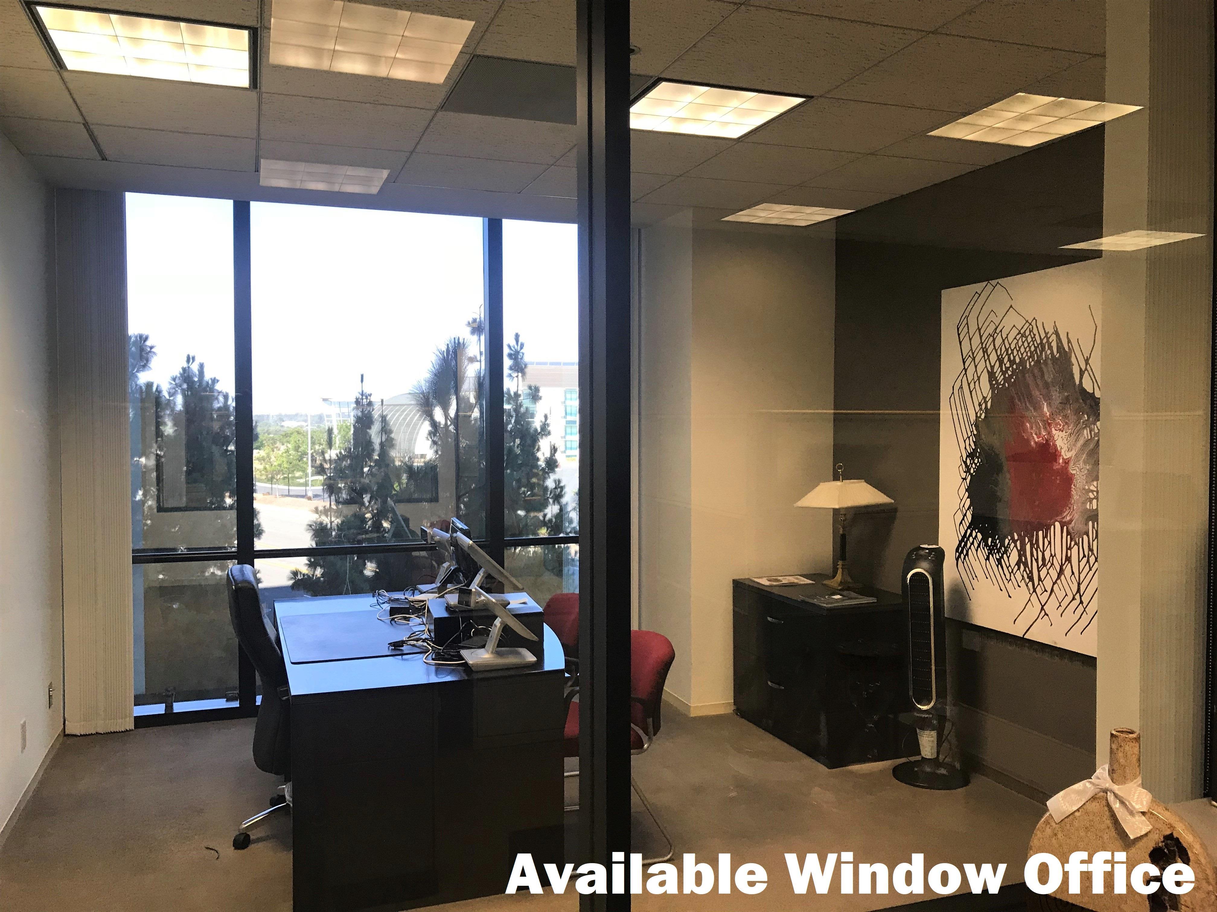 Newport Gateway - Suite #280 - Spacious Window Office