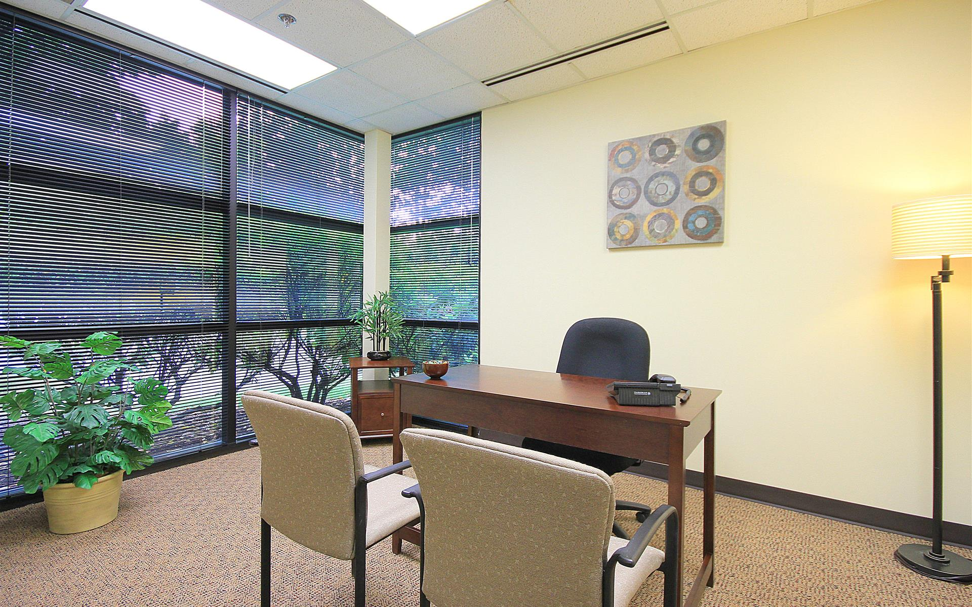 (BOT) North Creek Executive Offices - Premium Corner Window Office