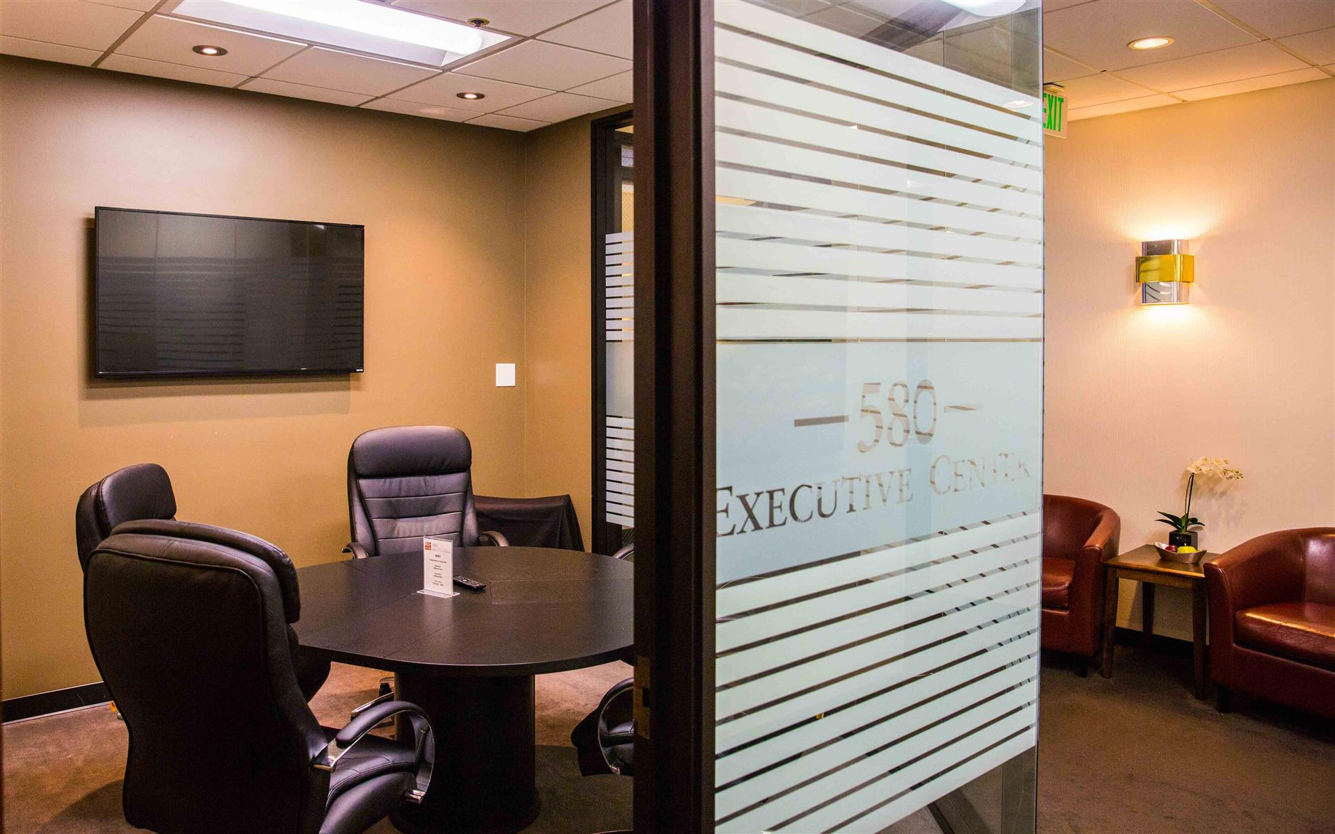 580 Executive Center - Glass Conference Room