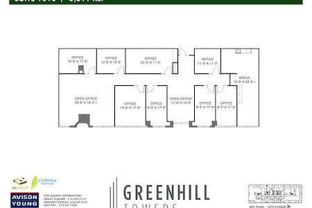 Greenhill Towers | Codina Partners - Suite 1010