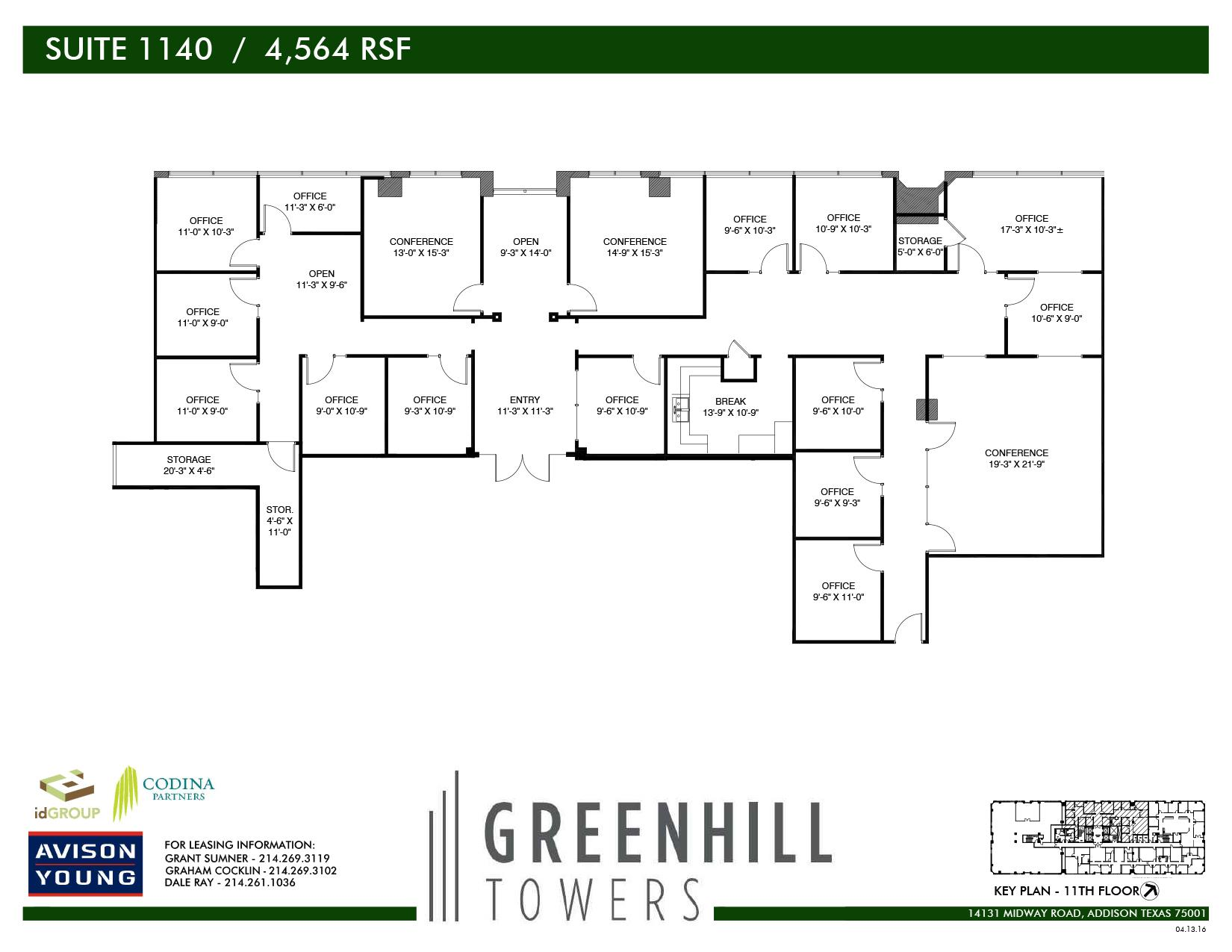 Codina Partners | Greenhill Towers - Suite 1140
