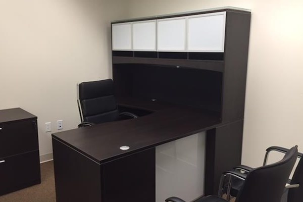 Empire Executive Offices - Office 1716 Interior w/ Sidelight Window