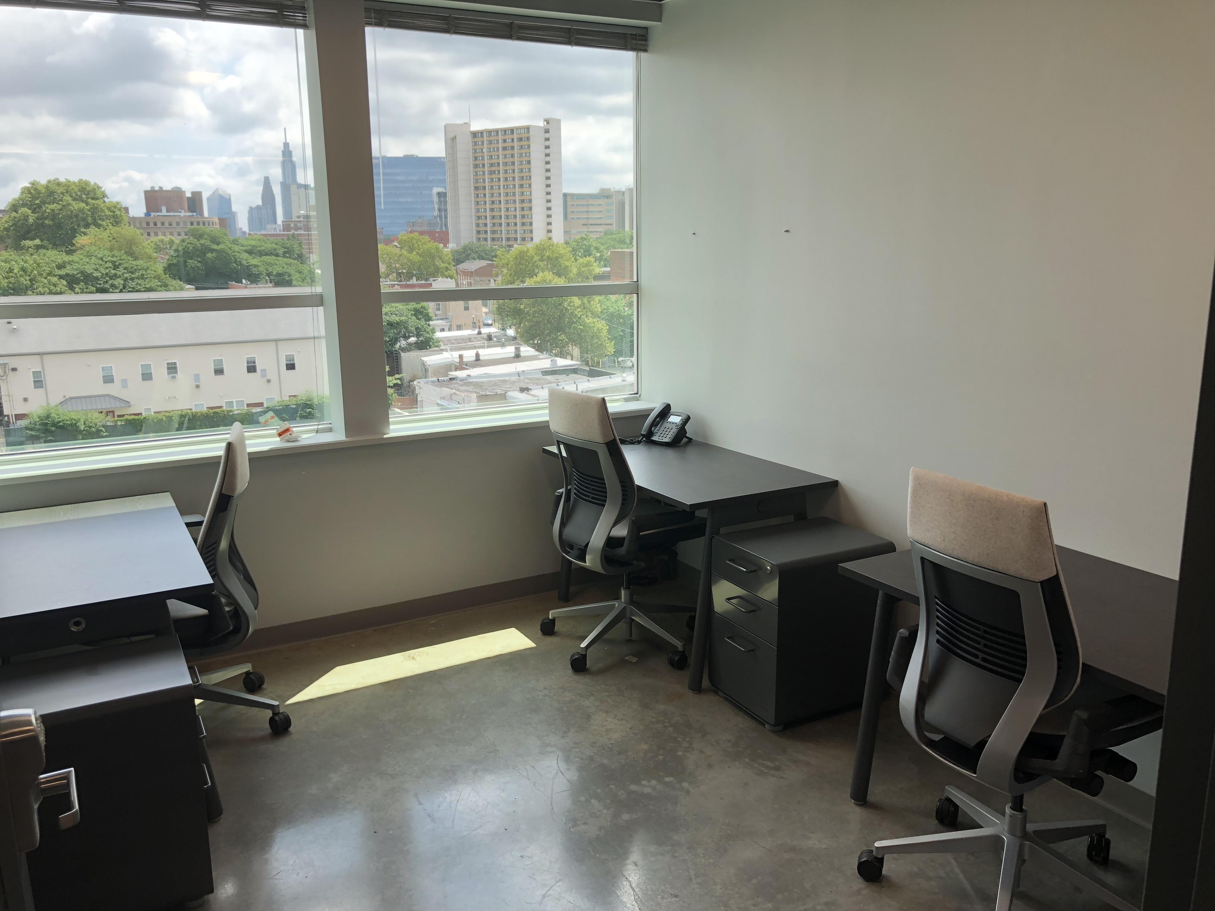 1776 University City - Office 114- 3 person office w/great view