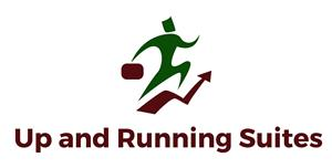 Logo of Up and Running Suites