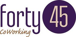 Logo of Forty45 Coworking