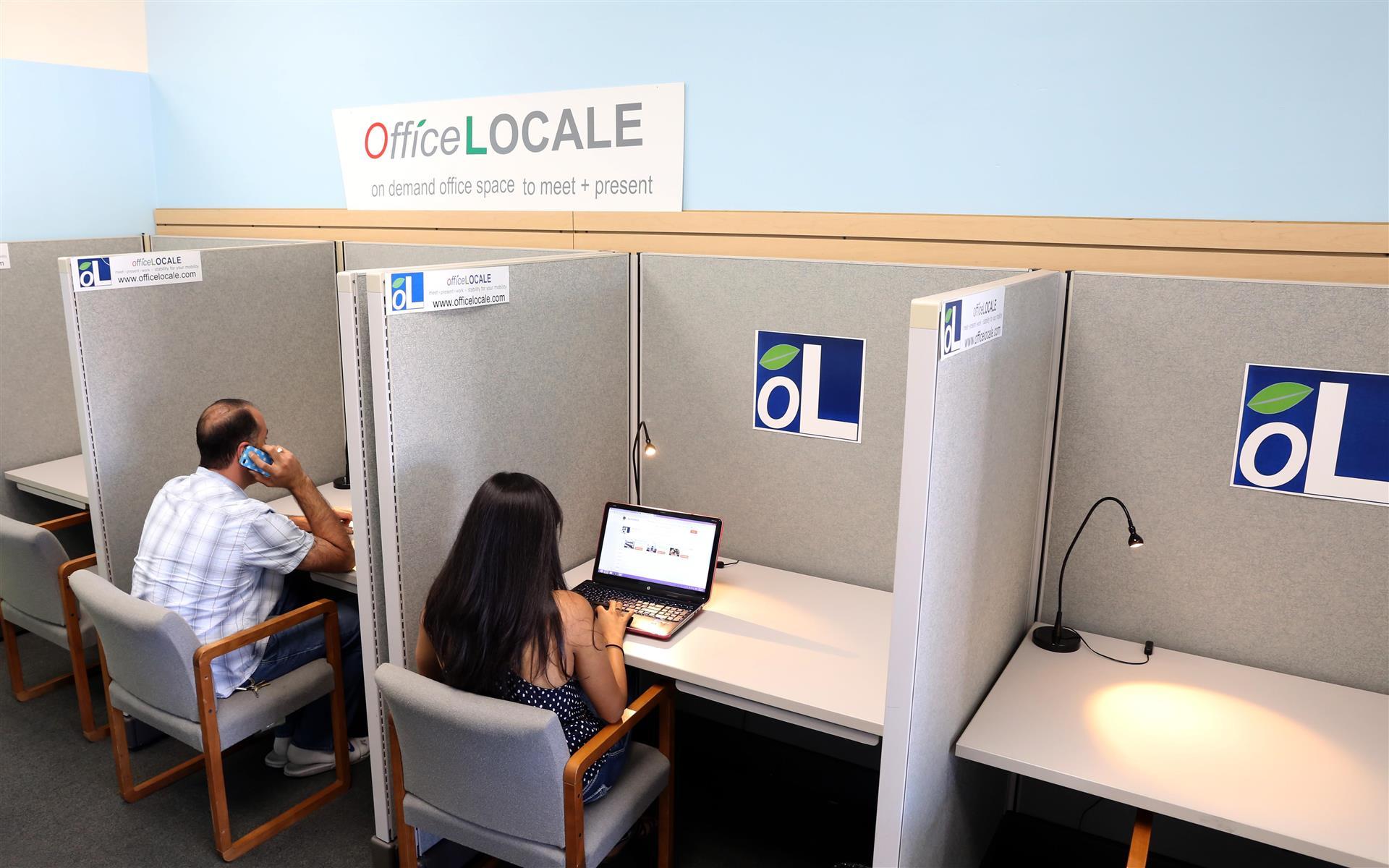 officeLOCALE Coworking Space & Cyberscraper - Private Desk Space