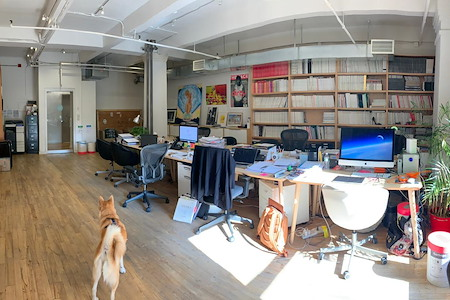 Conquest Advisors - Prime Soho Office Sublet@110 Greene St