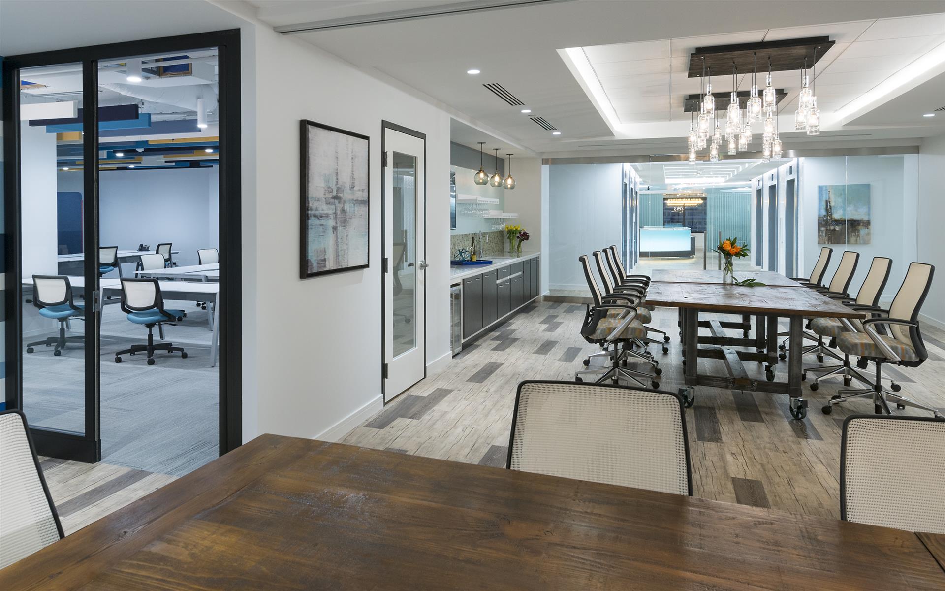 Metro Offices - Greensboro - Training / Collaboration Room